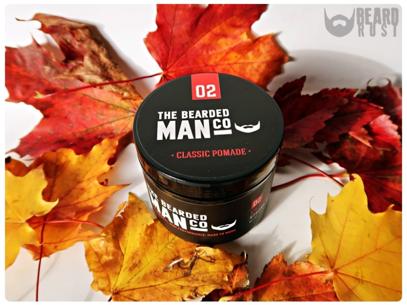 The Bearded Man Co. 02 Classic Pomade Strong Hold – recenzja wodnej pomady do włosów