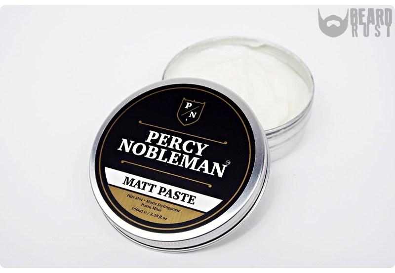 Percy Nobleman Matt Paste – recenzja pasty do włosów