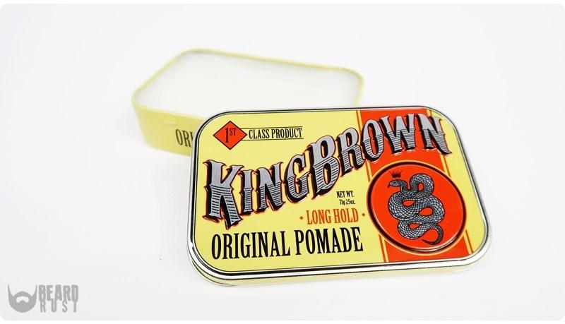 King Brown Original Pomade (Long Hold) – recenzja woskowej pomady do włosów