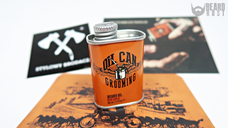 Oil Can Grooming Iron Horse Beard Oil – recenzja