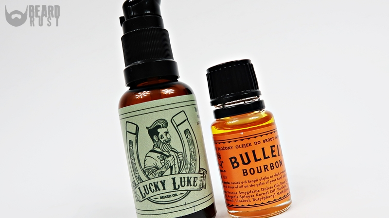 Pan Drwal Bulleit & Lucky Luke Beard Oil – recenzja olejków do brody