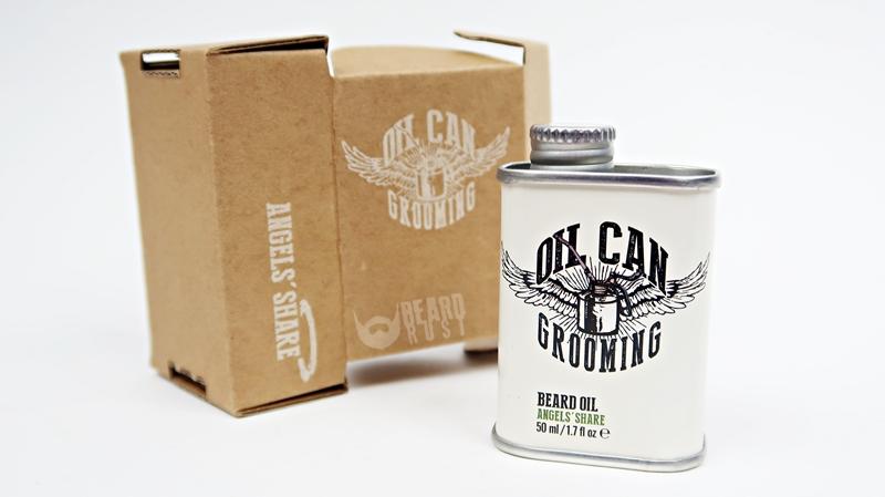 Oil Can Grooming Angel's Share Beard Oil – recenzja olejku do brody