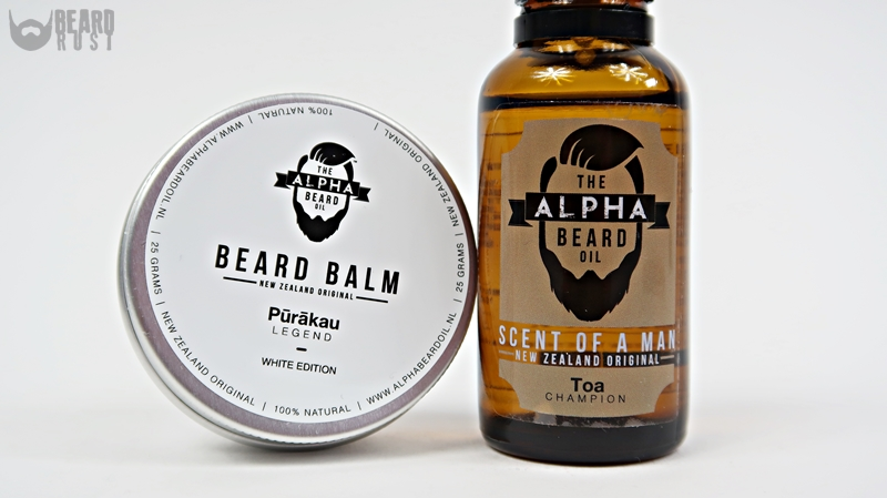 KINT: The Alpha Beard Beard Balm + Beard Oil