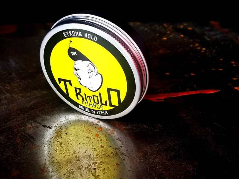 Tritolo Pomade Strong Hold – recenzja