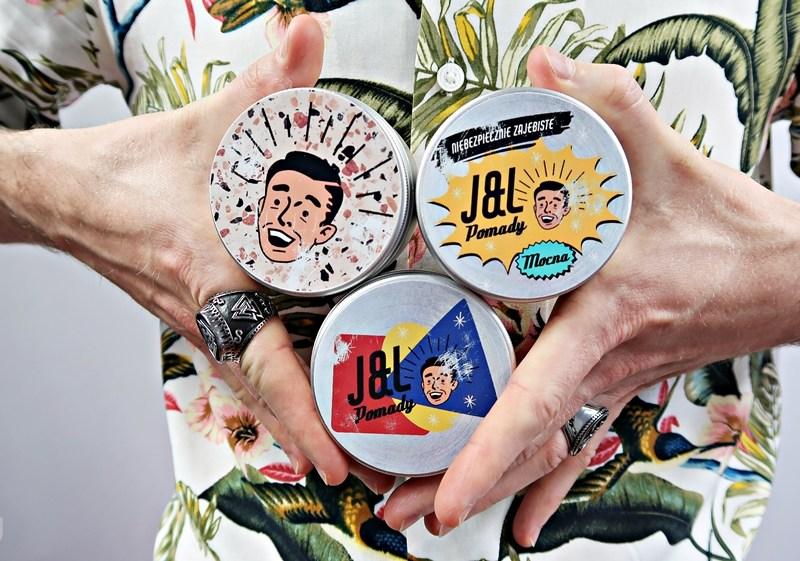 J&L Pomady – recenzja pomady wodnej, glinki i wosku do włosów