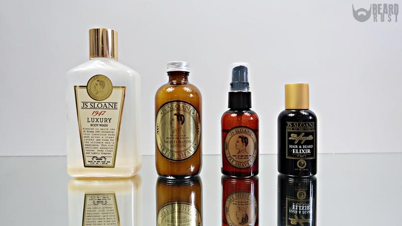 JS Sloane – recenzja kosmetyków do brody, ciała i golenia