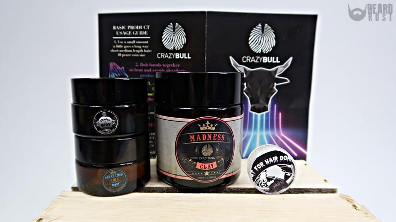 Crazy Bull Hair Products – recenzja pomad do włosów