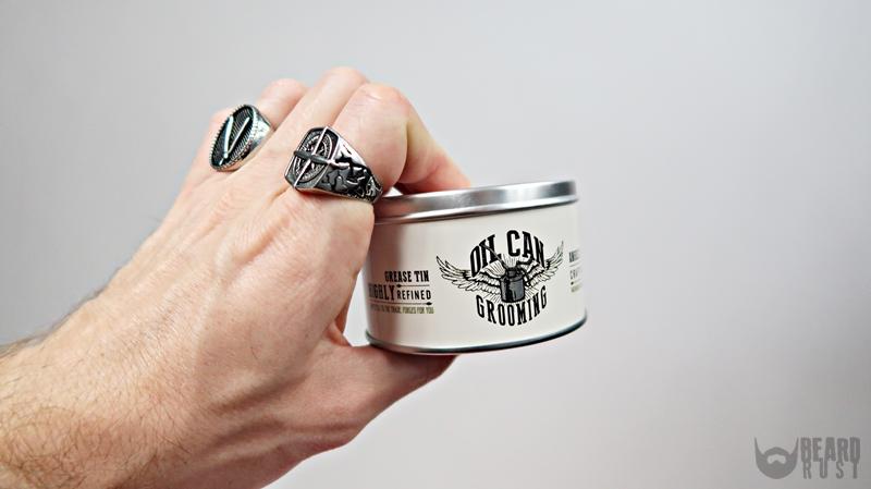 Oil Can Grooming Crafting Clay – recenzja glinki do włosów