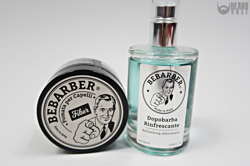 BeBarber Fiber + Aftershave Review