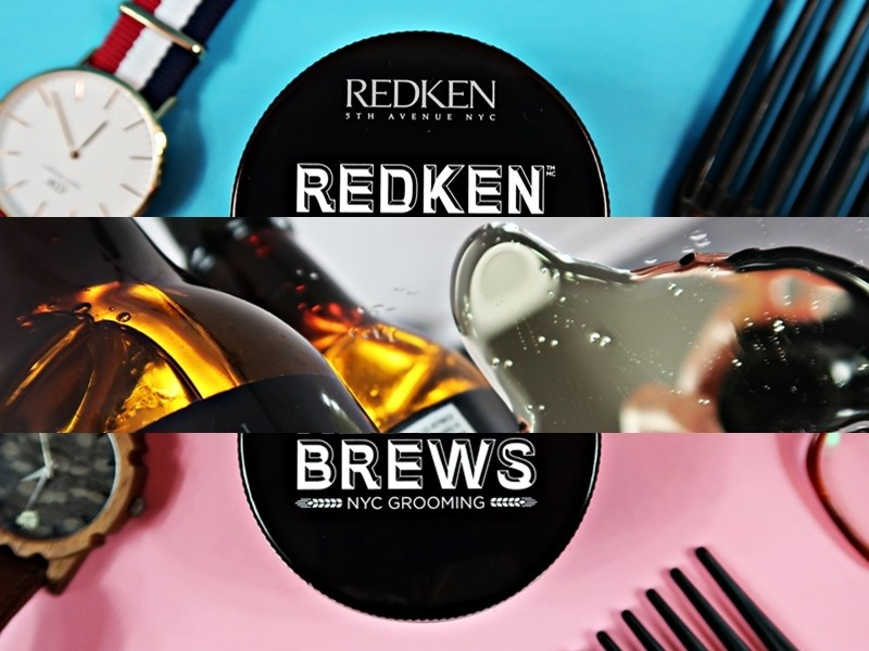 REDKEN Brews (Maneuver Cream + Clay Pomade + Extra Clean Shampoo) – recenzja