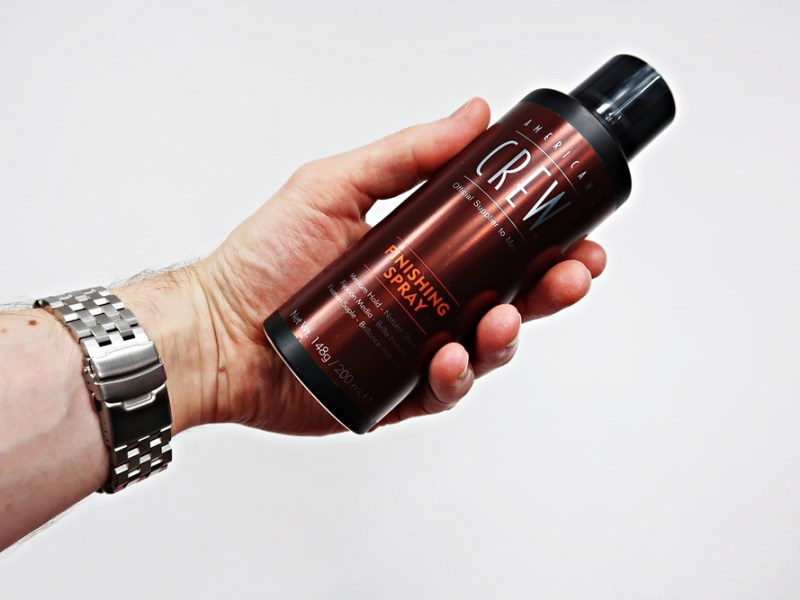 American Crew Finishing Spray – recenzja lakieru do włosów