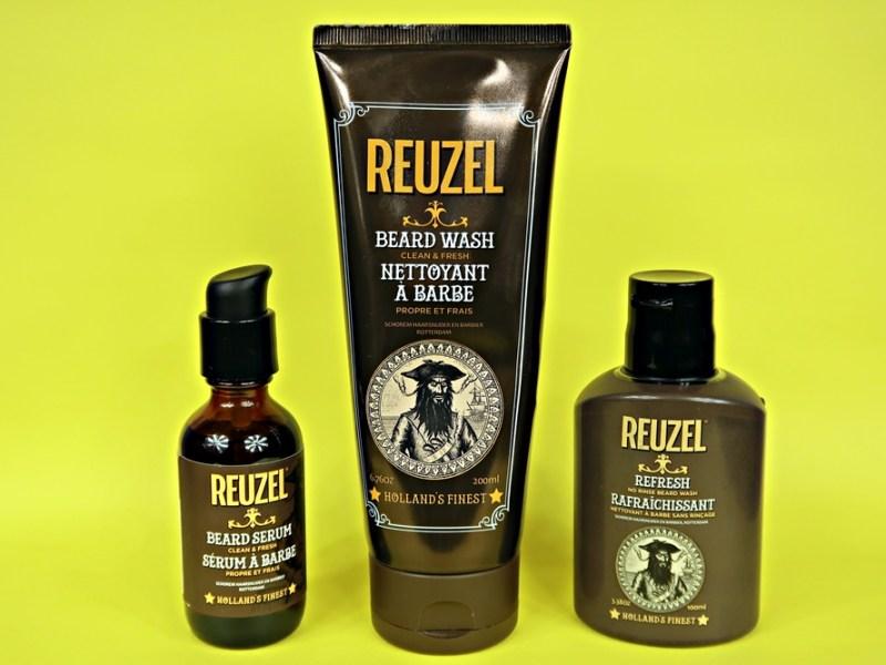 Reuzel Beard Wash + Serum + Refresh – recenzja nowości do brody