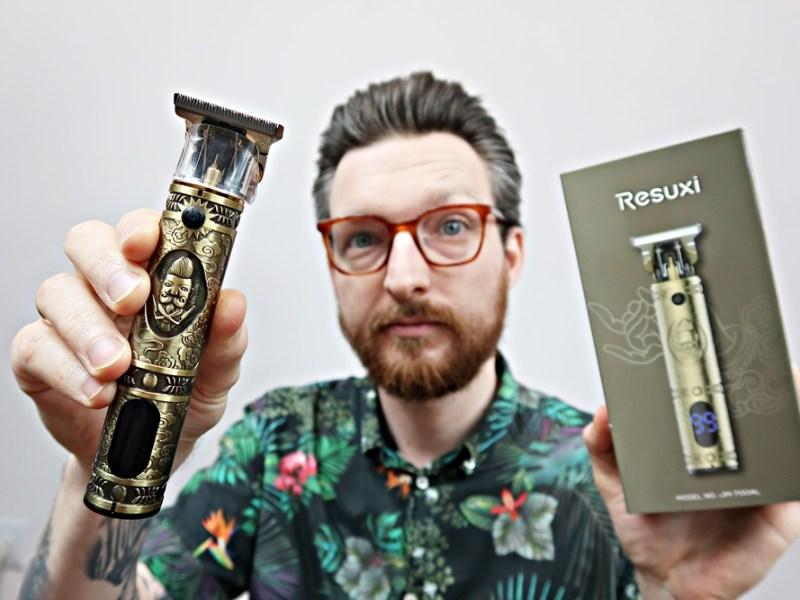 RESUXI Hair Trimmer (Aztec) – recenzja trymera do włosów/brody