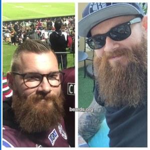 Adam: today's beard, 2016/12/21