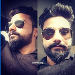 Anshu: today's beard, 2016/12/28