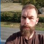 Benoît: today's beard, 2016/12/17