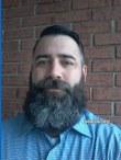 Jarrod's classic full beard: he grows greatness!