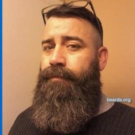 Jarrod's classic full beard.