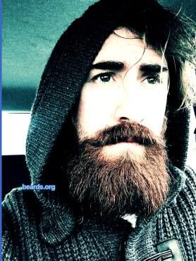 Mirco: today's beard, 2016/12/08
