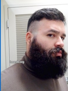 Patrick: today's beard, 2016/12/19