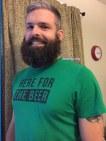 Ben's beard at five months, photo 2