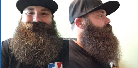Doug's mighty beard, photo 1