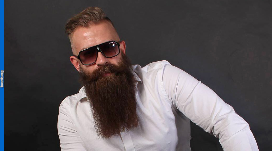 Andy, featured beard image