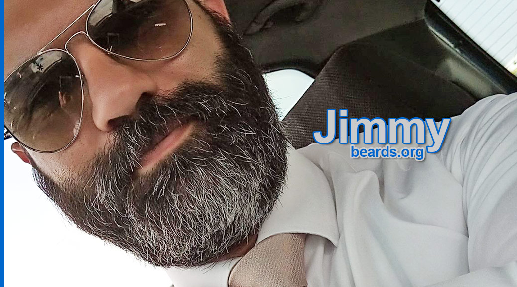Jimmy's excellent, strong beard, featured image