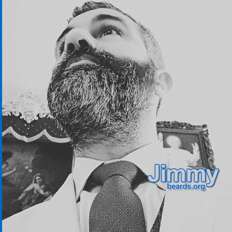 Jimmy's excellent, strong beard photo 5