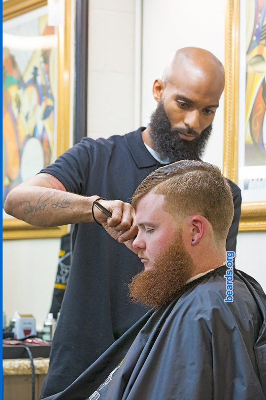 Virgil, barber beard image 2