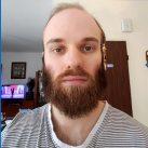Michael's beard in 2018