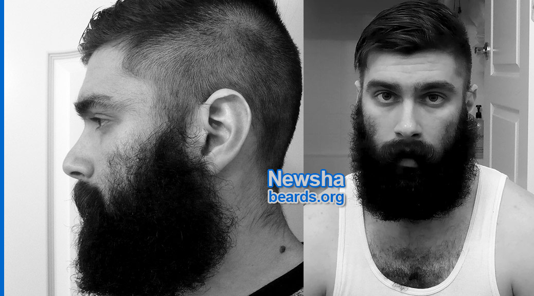 Newsha's awesome beard, featured image 1
