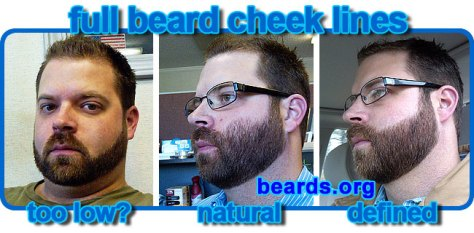 Choosing A Cheek Line For Your Full Beard All About Beards