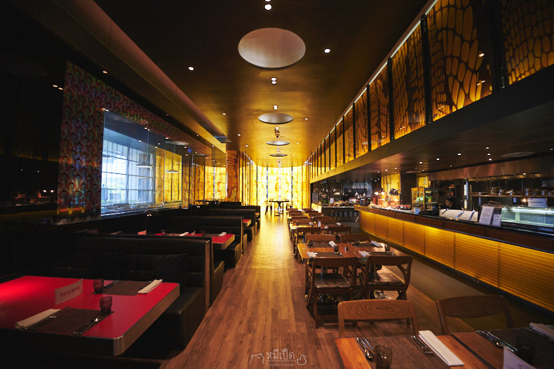 รีวิว บุฟเฟต์มื้อกลางวัน โรงแรม W Bangkok
