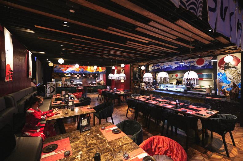 รีวิว Soshi บุฟเฟต์อาหารญี่ปุ่น โรงแรม SO/ Bangkok