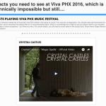 Bear Ghost at Viva Phx 2016