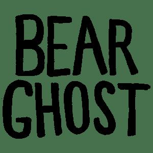 Bear Ghost Logo by Monika Amneus