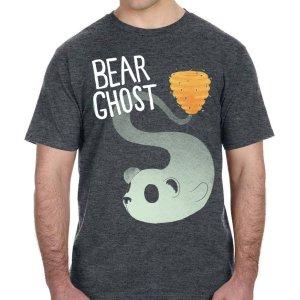 Bear Ghost Bear Hive T-Shirt