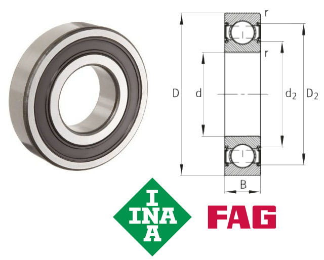 6206 Bearing Specifications