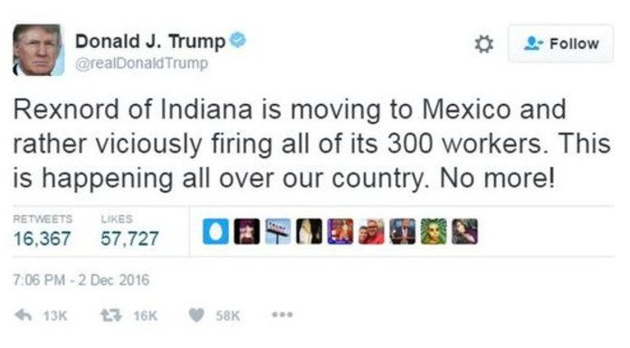 Image result for Rexnord of Indianapolis is moving to Mexico and rather viciously firing all of its 300 workers