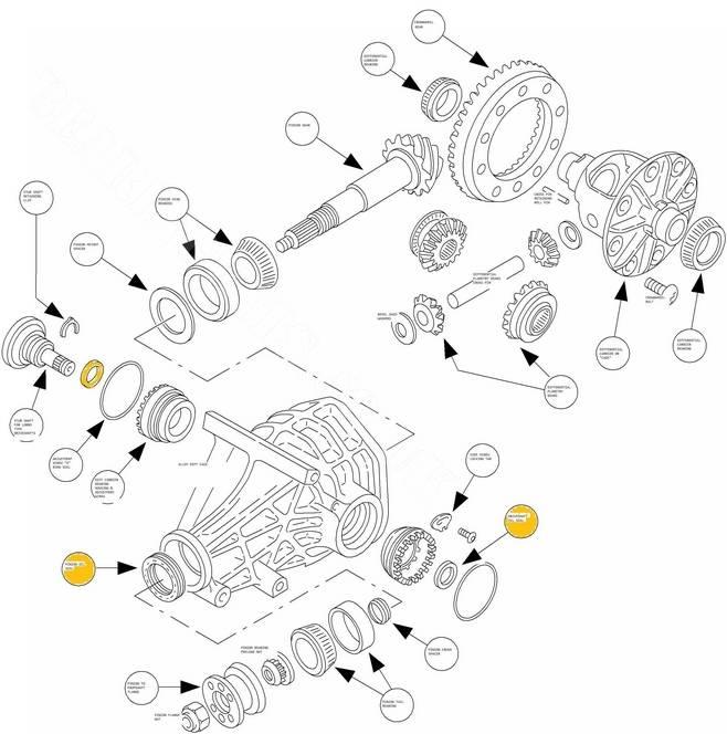 Ford sierra cosworth diff
