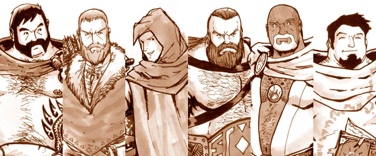 Barrigas & Pelos – Introdução e Personagens (Raças e Classes)