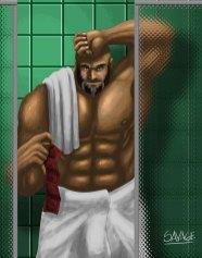 savage-After-shower