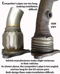 FX2061 Semi Direct Fit Exhaust Flange Repair Flex Pipe