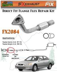 Semi Direct Fit Exhaust Flange Repair Flex Pipe ...