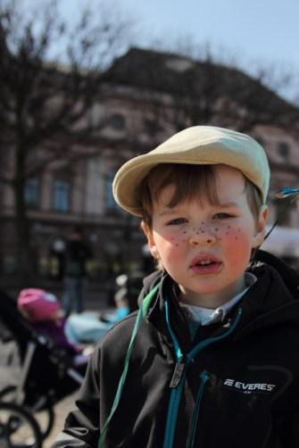 Påskparad i Karlstad 2013 - Charlie