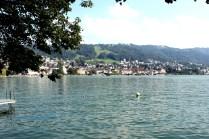 Bild tagen i Zug, Schweiz