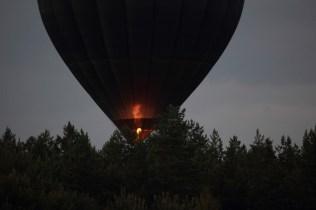 Den störtande luftballongen