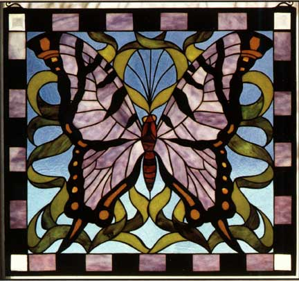 Butterfly Stained Glass Window Patterns  Patterns Gallery