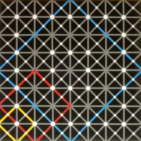 Square - Acrylic on canvas - 50x50 cm